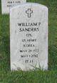 William P J Sanders