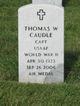 Thomas W Caudle