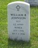 "Sgt William Brownlow ""Bill, WB or Dub"" Johnson"
