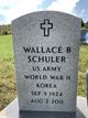 "Wallace ""Wally"" Schuler"
