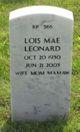 Lois Mae Leonard