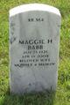 Maggie H <I>Hubbard</I> Babb