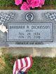 Barbara Ann <I>Breed</I> Dickinson
