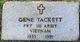 Pvt Gene Tackett