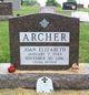 Profile photo:  Joan Elizabeth <I>Perry</I> Archer