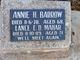 Annie Hosie Barrow