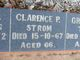 Clarence Percival Strom