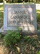 Janie <I>Brown</I> Cannamore