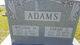 Profile photo:  Sarah J <I>Hicks</I> Adams