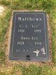 Anna Lee <I>Eastman</I> Matthews