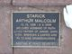 Arthur Malcolm Starick