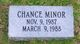 Chance Minor