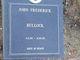 "John Frederick ""Jack"" Bullock"
