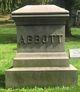 Profile photo:  Harriett <I>Howland</I> Abbott