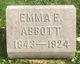 Profile photo:  Emma E <I>Newkirk</I> Abbott
