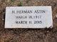 Profile photo:  Horace Herman Astin