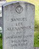 Profile photo:  Samuel Lee Alexander