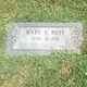 Mary C Huff