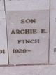 Photo de profil:  Archie E. Finch