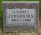 Profile photo:  Gilbert Jurgensen