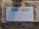 Profile photo:  John Allen