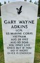Profile photo:  Gary Wayne Adkins