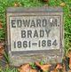 Profile photo:  Edward Brady