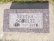 Bertha Schultz