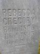 Profile photo:  Rebecca Daughtry <I>Dodrill</I> Gregory