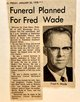 Fred Henry Wade