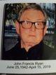 Profile photo:  John Francis Ryan