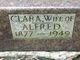 Profile photo:  Clara <I>Jorns</I> Abbott