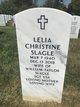 """Lelia Christine """"Cris"""" <I>Daws</I> Slagle"""