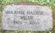 Marjorie <I>Haeberlin</I> Milde