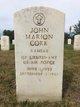 1LT John Marion Cork