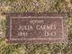 Julia Beatrice <I>May</I> Carnes