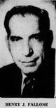 Profile photo:  Henry J. Fallone