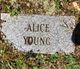 Mary Alice <I>Young</I> Young