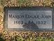 Marion Edgar John