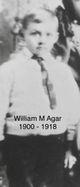 Profile photo:  William Mosley Agar
