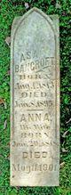Anna A <I>Taft</I> Bancroft