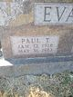 Paul Thomas Evans