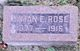 Lyman Elton Rose