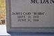 "James Cary ""Bubba"" McDaniel"