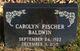 Profile photo:  Carolyn <I>Fischer</I> Baldwin