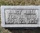 Nancy M <I>McBroom</I> White