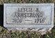 Profile photo:  Leslie B Armstrong