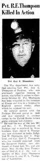 Profile photo: Corp Ray Edward Thompson