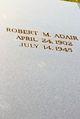 Profile photo:  Robert M. Adair