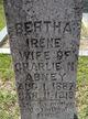 Profile photo:  Bertha Irene Abney